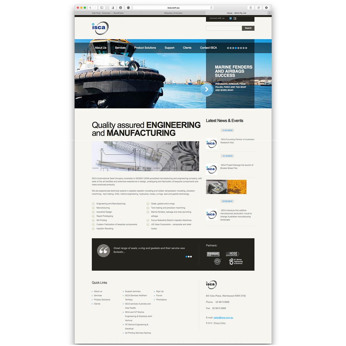 ISCA website